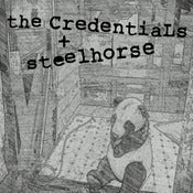 Image of RGF-008 The Credentials/Steelhorse split 7&quot; EP 