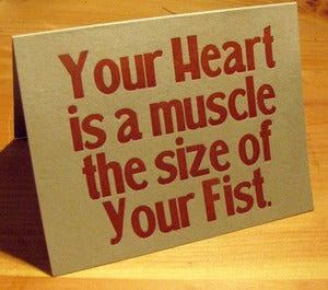 Image of 'Your Heart...' Card