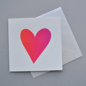 Image of Valentines Heart Card