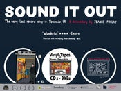 Image of SOUND IT OUT poster by Amy Blackwell (A2 - glossy hi-fi)