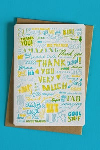 Image of Thank you (very much) card