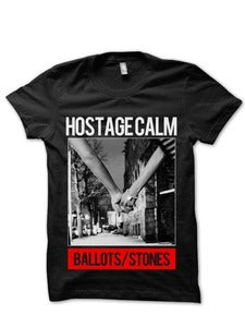 Image of Ballots/Stones T Shirt (Black)