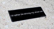 Image of Show Car Bumper Sticker