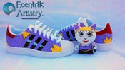 "Image of ""Jinx"" Custom Adidas Superstar w. Custom Figure"