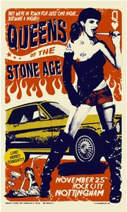 Image of Queens of The Stone Age (Nottingham City) ARTIST PROOFS