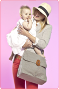 Image of Babymel The Satchel Diaper Bag