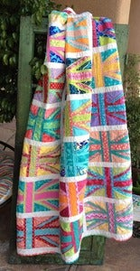Image of I Heart London quilt pattern