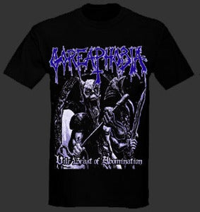 "Image of Goreaphobia ""Vile Beast of Abomination"" Tshirt"