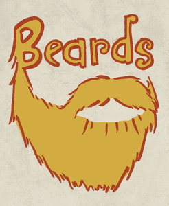 Beards illustration