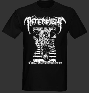 "Image of Interment "" Forward To The Unknown "" T shirt"