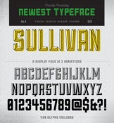 Image of Sullivan Font Family