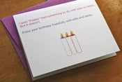 Image of Pilates - Pills & Lattes Birthday Card