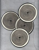 "Image of ""THEE INFINITE EYE"" COASTERS set of 4"