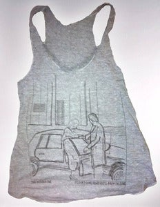 Image of If I Don't Come Home Heather Grey Tank