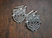 Image of Owl Earrings