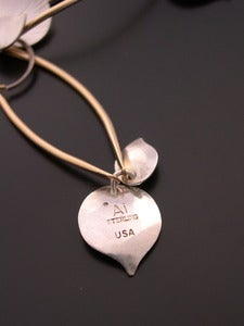 Image of Ai Jewelry is hallmarked &quot;Ai&quot;, &quot;USA&quot; and &quot;Sterling&quot;
