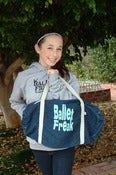 Image of Ballet Freak Denim Bag