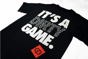Image of Dirty Game Tee (Black & White)