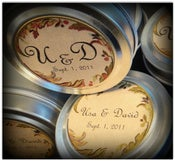 Image of Set of 24 Soy Candles Wedding and Party Favors