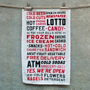 Image of Bodega Tea Towel
