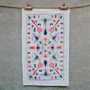 Image of Buggy Tea Towel