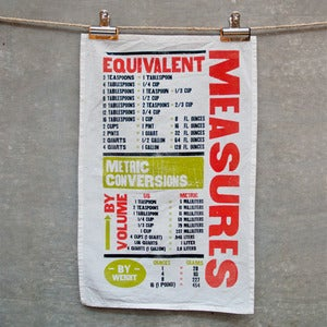 Image of Measure Tea Towel
