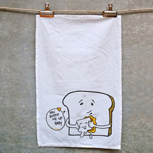 Image of Butter Me Up Tea Towel