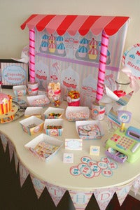 Image of Cupcake Party Decoration Collection