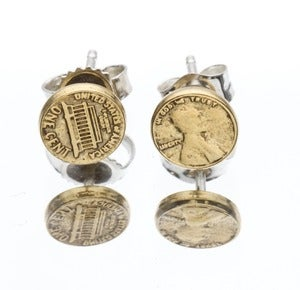 Image of LUCKY PENNY EARRINGS