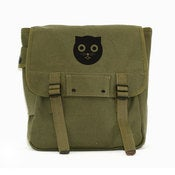 Image of Watson the Cat - Simple Canvas Backpack