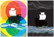 Image of Ghost Ships 2 print set