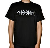 Image of WOLF DRAWN X PHOENIX T-SHIRT
