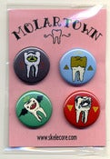 Image of Molar Town Pin Pack