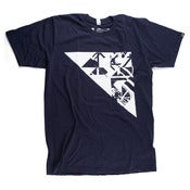 Image of Graphic Surgery Navy - White