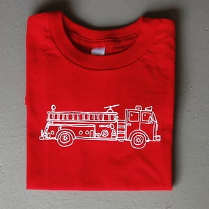 Image of Fire Truck Children's Tee