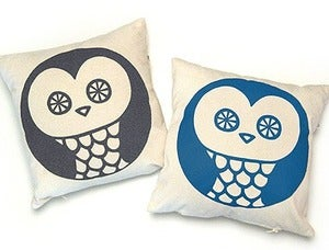 Image of Owl cushion - pillow cover