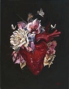 Image of Corazon Original Painting 8x10