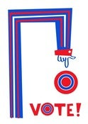Image of Vote! silkscreen