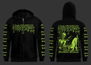 "Image of Goreaphobia ""Morbidious Pathology"" Zipper Hoodie Sweatshirt"