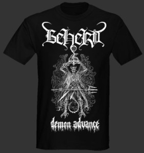 Image of Beherit &quot;Demon Advance&quot; T shirt