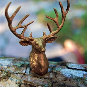 Image of Gold Deer Ring
