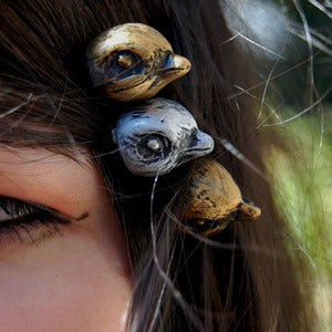 Image of Bird Hair Pins