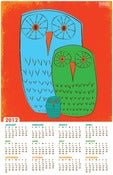 Image of 2012 Three Owls Wall Calendar