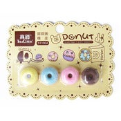 Image of Set de 4 Gommes Donuts