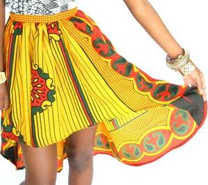Image of The 'FUPI NDEFU' Skirt