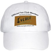 Image of Everly Family Fansite/Fan Club ~ White cap