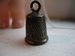 Image of Engraved Thimble Pendant