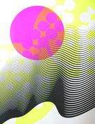 Image of Abstract 5 silkscreen poster