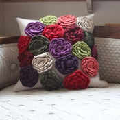 Image of Melanie Porter: Knitted cushion - Bea