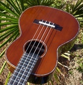 Image of Ohana TK-50G Cedar/Rosewood Tenor with case